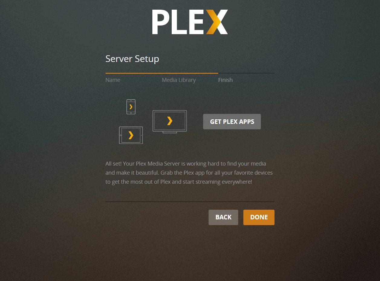 Complete Plex Media Server Set up