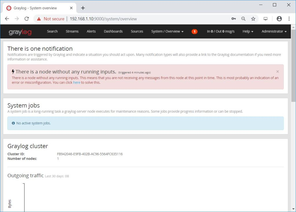 Install Graylog 3.0 on Ubuntu 18.04 - System Overview