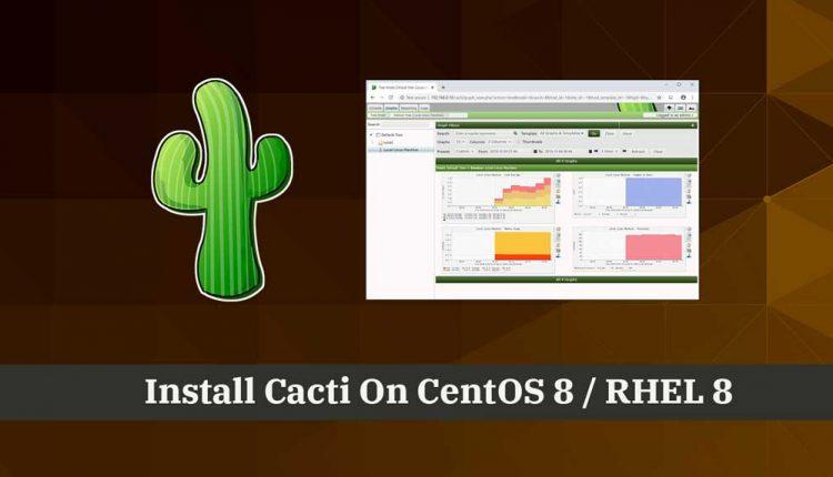 How To Install Cacti On CentOS 8 / RHEL 8 | ITzGeek