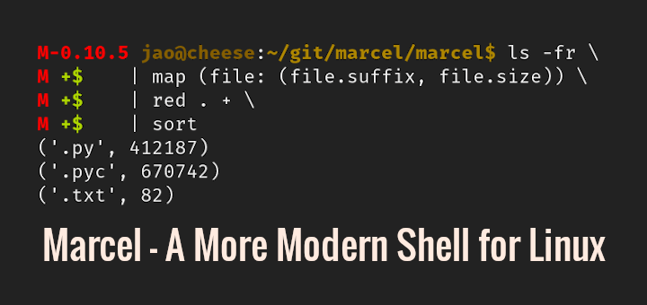 A More Modern Shell for Linux