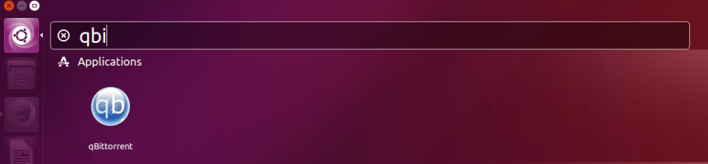 Install qBittorrent on Ubuntu 16.04 - Starting qBittorrent