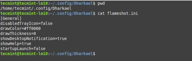 Flameshot Configuration File