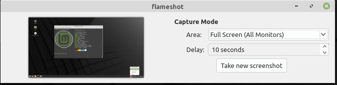 Take Full Desktop Screenshot