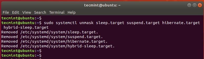 Enable Suspend and Hibernation in Ubuntu