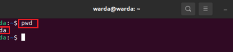 Linux pwd Command