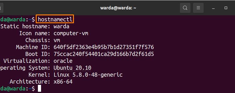 How to Set Hostname Using Hostnamectl Command?