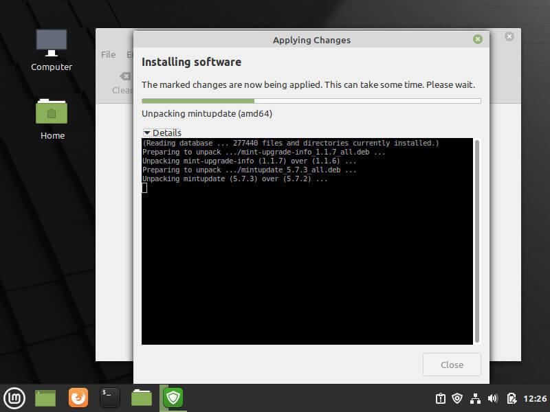 Update Linux Mint