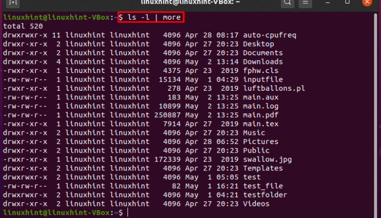How Do You Pipe the Output of a Command to a File in Linux
