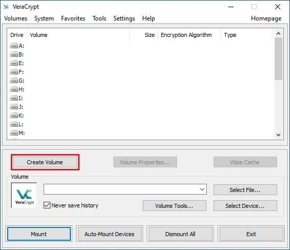 Install VeraCrypt on CentOS 8