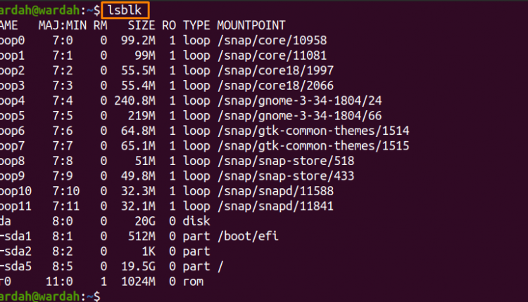 How do I show unmounted drives in Linux