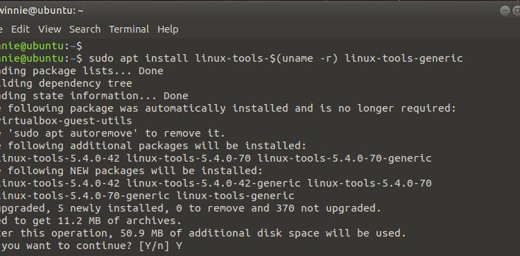 Linux Perf commands