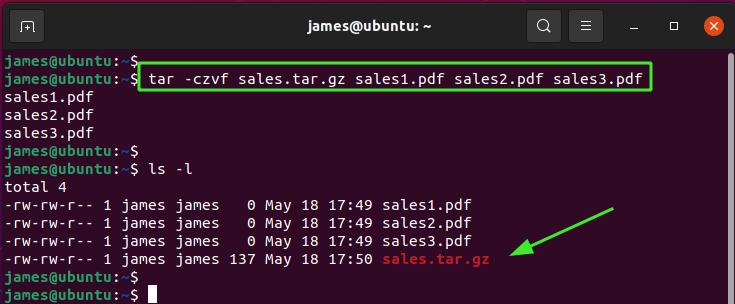 Linux tar Command