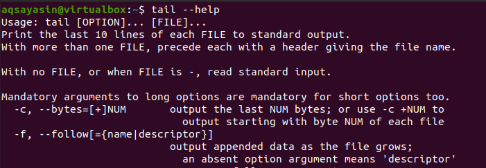 Linux Tail Command with Examples