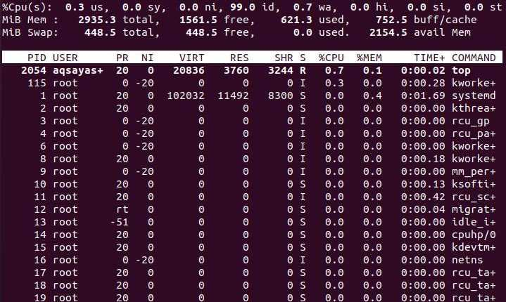 Linux Top Command with Examples