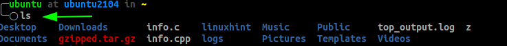 Linux ls Command File Size Formatting