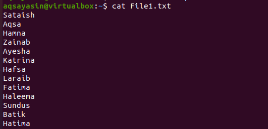 Sort Command in Linux with Examples
