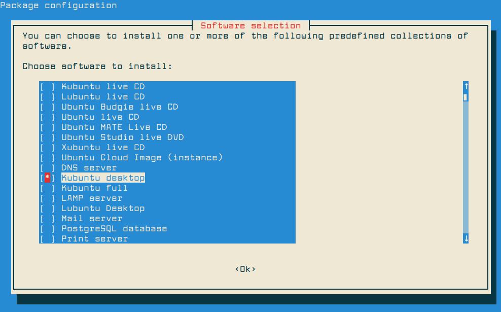 Install KDE Plasma in Debian10