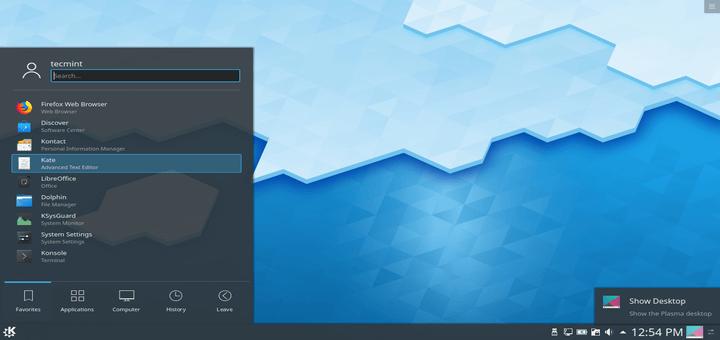 How to Install KDE Plasma in Linux Desktop