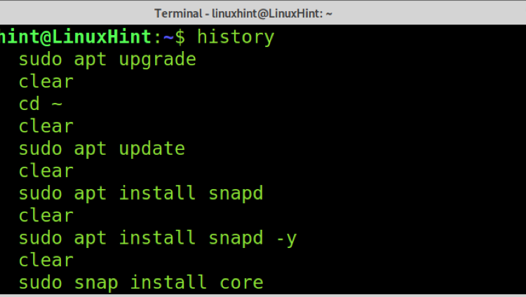 Delete history without a trace in Linux