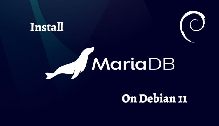 How To Install MariaDB 10.x on Debian 11   ITzGeek